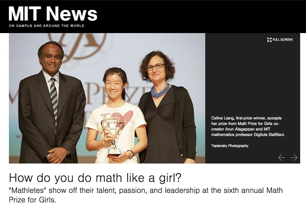 How do you do math like a girl? - Math Prize for Girls - Official ...